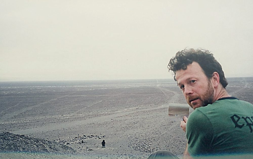 Shaun Pettogrew and Hobe at the Nazca Lines.jpg