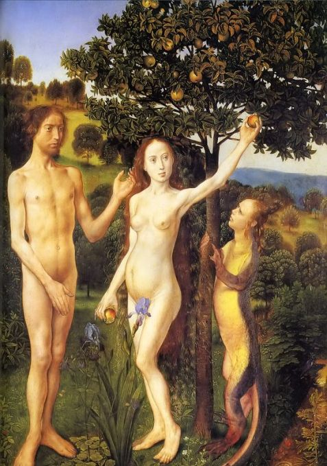 The Temptation Hugo vand der Goes 1467