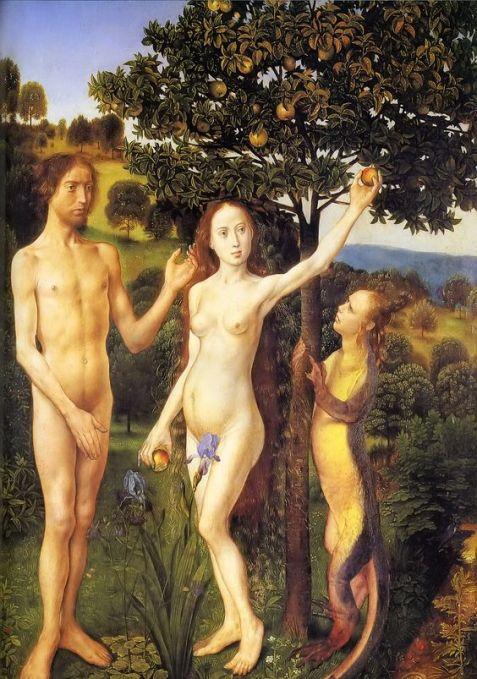 The Temptation Hugo vand der Goes 1467