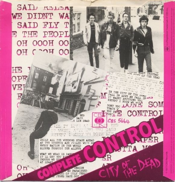 reverse artwork of Complete Control
