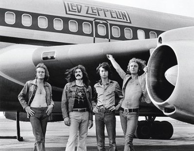 led zep by bob gruen